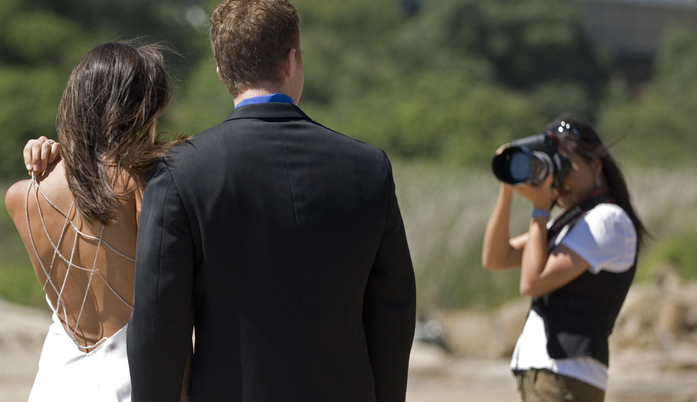 Choosing a great wedding photographer