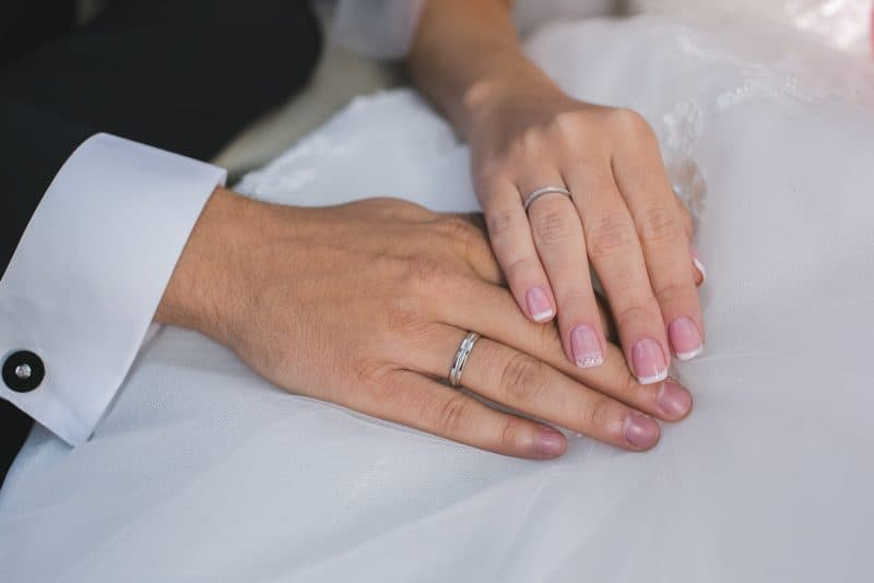 Why are wedding rings worn on the left hand WedNet